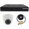 комплект видеонаблюдения на 1 камеру AHD для дома